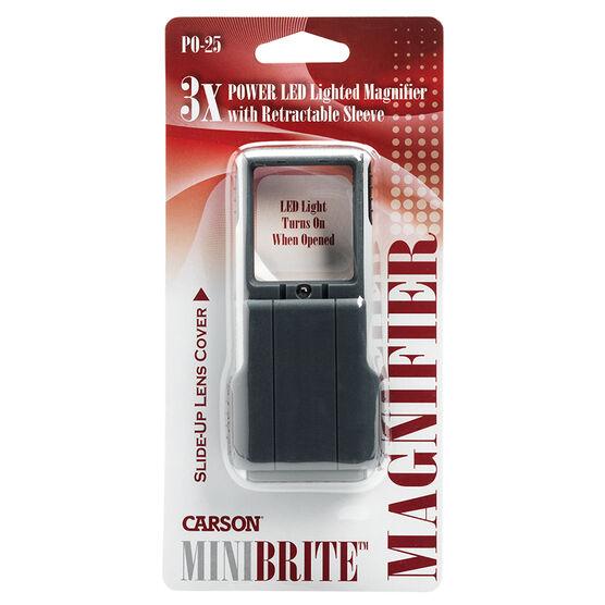 Carson MiniBrite Pocket Magnifier - PO-25