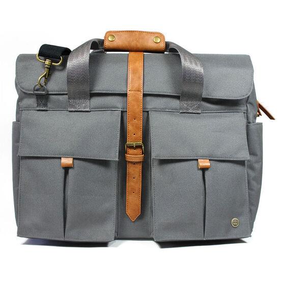 "PKG LB07 15"" Messenger Bag - Grey - PKG LB07-15-GRY"
