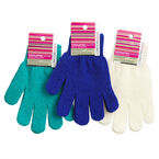 London Premiere Exfoliating Gloves Assorted