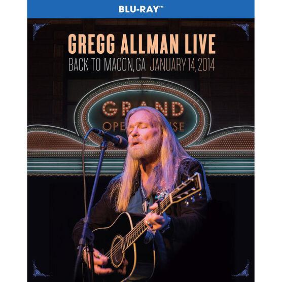 Gregg Allman - Back To Macon, GA - Blu-ray