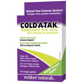 Webber Naturals Cold Atak Oregano Oil - 60's
