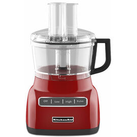 KitchenAid 7 Cup Food Processor with ExactSlice System - Empire Red - KFP0711ER