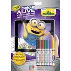 Crayola Colour Alive Colouring Book - Minions
