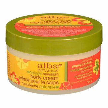 Alba Hawaiian Body Cream - Papaya Mango - 180g
