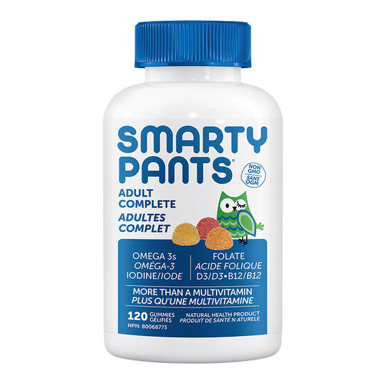 Smartypants Adult Complete Multivitamins Gummies - 120's