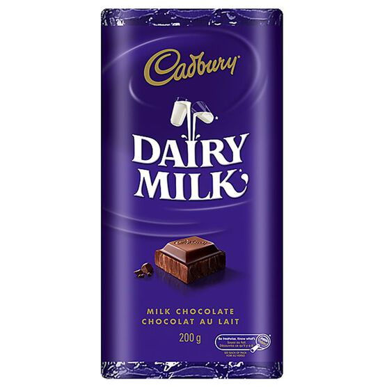 Cadbury Dairy Milk Bar -  200g