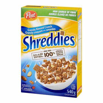 Post Granola Almond Crunch Shreddies - 540g