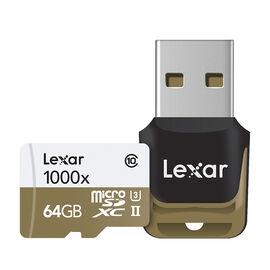 Lexar Professional 1000X Micro SDXC Card - 64GB - LSDMI64GCBNL1000R