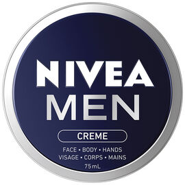 Nivea Men Creme Face Body Hands - 75ml
