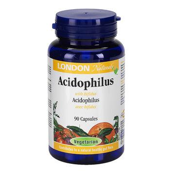 London Drugs Naturals Acidophilus with Bifidus Vegetarian Capsules - 90's
