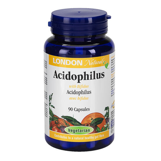 London Drugs Naturals Acidophilus with Bifidus Vegetarian Capsules - 90's