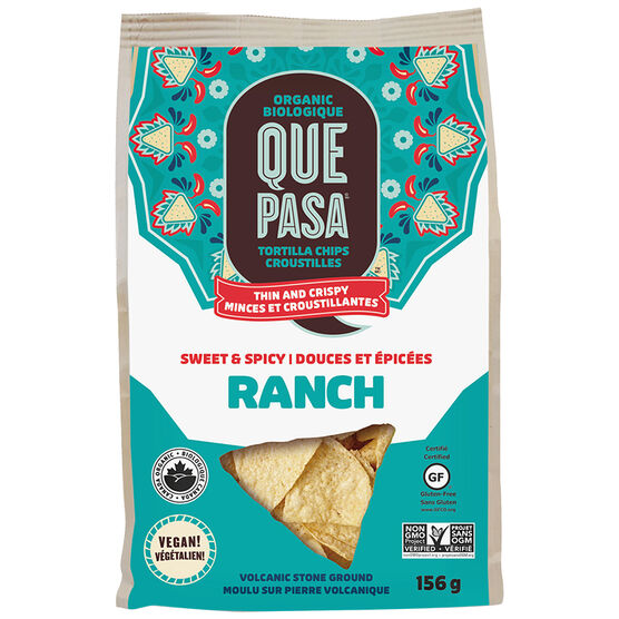 Que Pasa Tortilla Chips - Sweet & Spicy Ranch - 156g