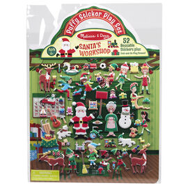 Melissa & Doug - Puffy Sticker Play Set - Santa's Workshop