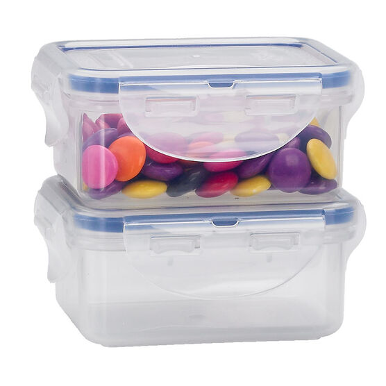 Starfrit Lock & Lock Rectangular Storage Container - 2 x 180ml