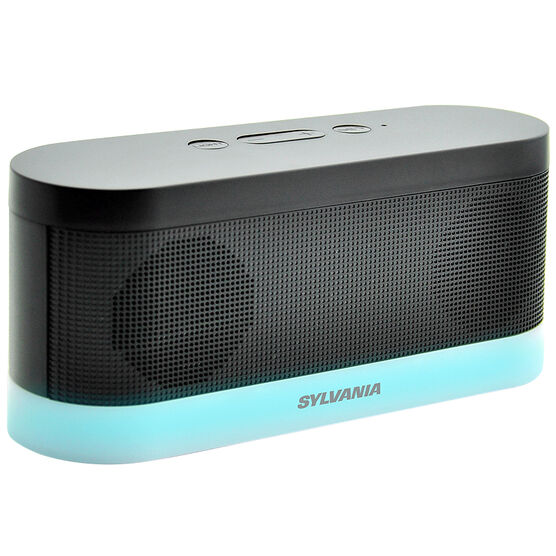 sylvania bluetooth moonlight speaker black sp136