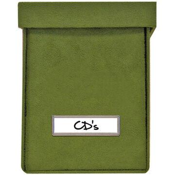 Vista CD Storage - Green - 3 Pack