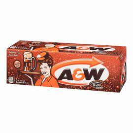 A&W Root Beer - Fridge Mate - 12 pack