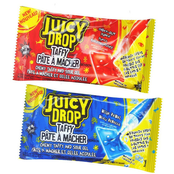 Topps Juicy Drop Taffy - Assorted - 67g