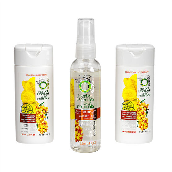 Herbal Essences Wild Naturals Illuminating Kit