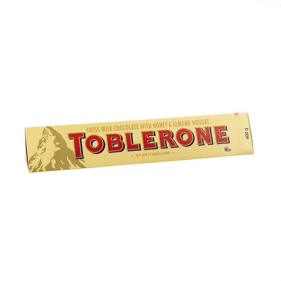Toblerone Milk Chocolate - 400g