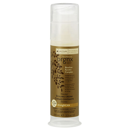 LaCoupe Orgnx Brazilian Keratin Styling Cream - 100ml