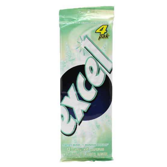 Excel Gum - Sweet Mint - 4 pack