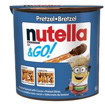 Nutella & Go with Pretzels - 54g