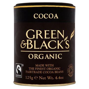 Green & Blacks Organic Cocoa - 125g