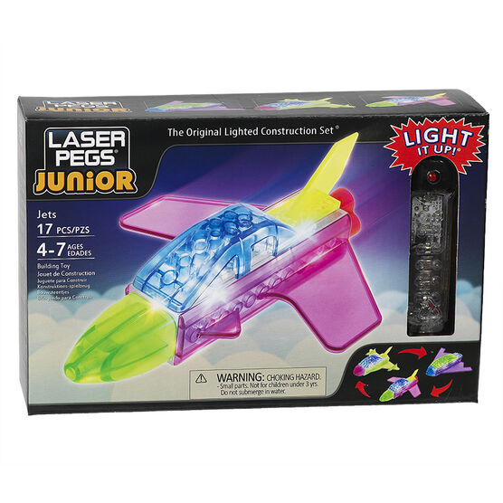 Laser Pegs Juniors 3-in-5 - Jets