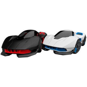 WowWee R.E.V. Cars - 2 Cars - Black/White