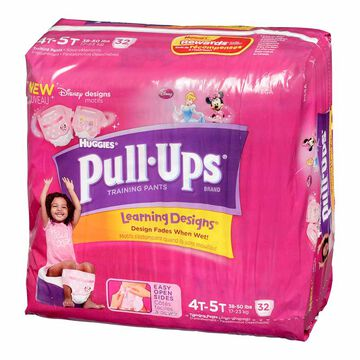 Pull Ups Training Pants - Girls - Size 4-5 - 32's