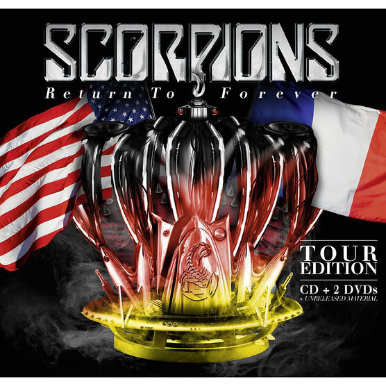 Scorpions - Return To Forever - CD + 2 DVD