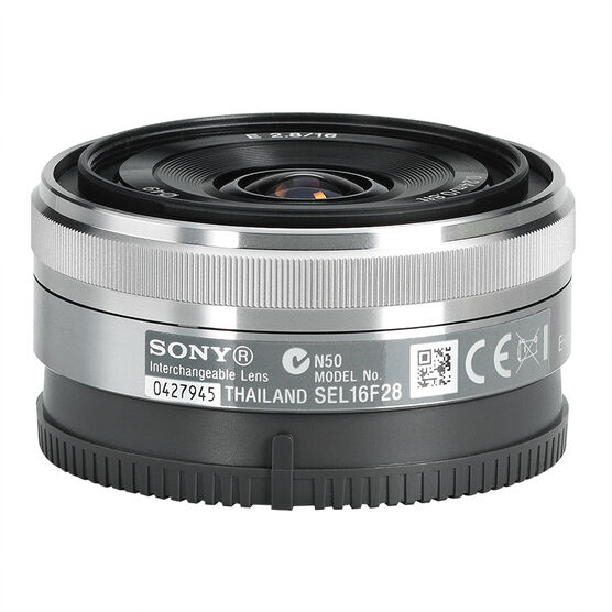 Sony NEX 16mm f/2.8 Wide-Angle Lens - SEL16F28
