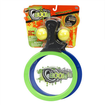 Boom Ball Paddle Game - Assorted Colours - OC8425BL