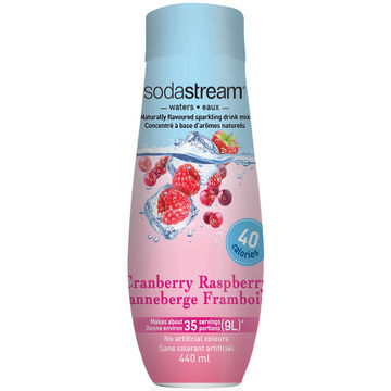 SodaStream Fruit Water - Cran-Raspberry - 440ml