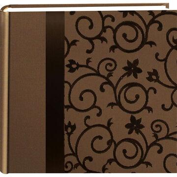 Pioneer Embossed Brown Scroll Album - 2 UP - DA-200SRBN