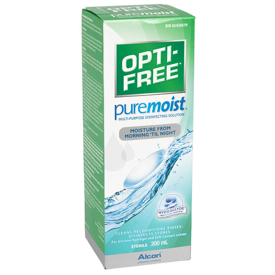 Alcon Opti-Free PureMoist Multi-Purpose Disinfecting Solution - 300ml