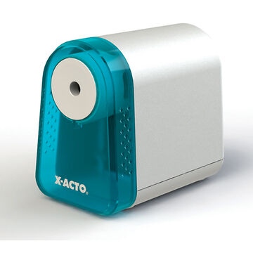X-Acto Mighty Mite Battery Pencil Sharpener - White/Blue - 19510T