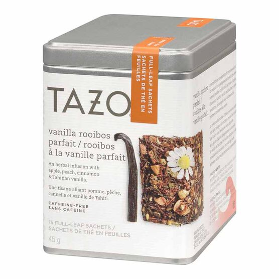 Tazo Vanilla Rooibos Herbal Infusion Tin - 15's