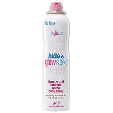 Bliss FatGirlSlim Hide and Glow Sleek Firming & Luminous Tinted Body Spray - Medium to Deep - 113g