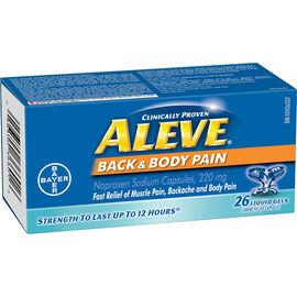 Aleve Back & Body Pain - 220mg - 26's