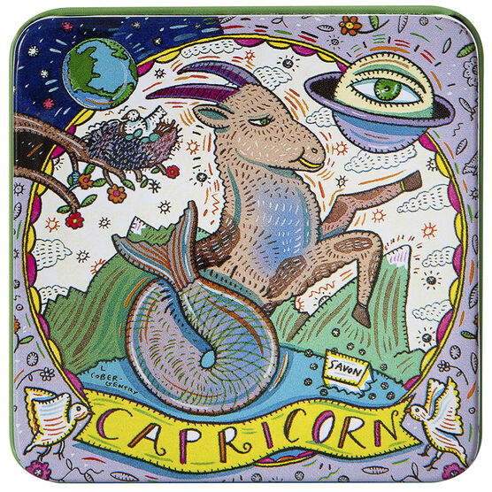 Zodiac Soap in Tin - Capricorn - 100g