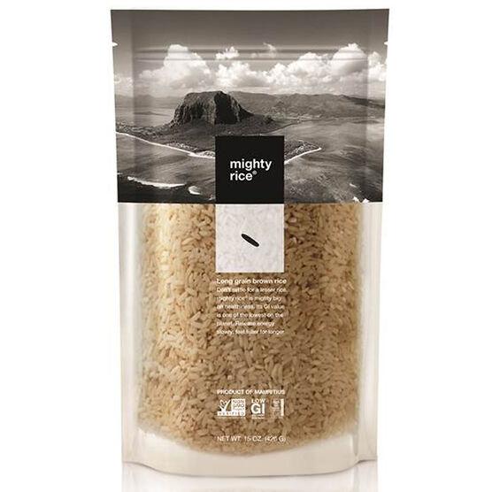 Mighty Rice Long Grain Brown Rice - 426g