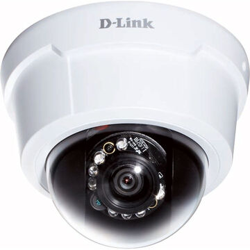 D-Link 2MP Full HD Indoor Day/Night Dome IP Camera - DCS-6113