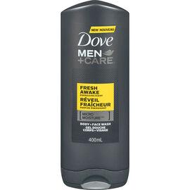 Dove Men+Care Energizing Scent Body & Face Wash - Fresh Awake - 400ml