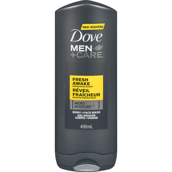 Dove Men+Care Energizing Scent Body & Face Wash - Fresh Awake - 400ml