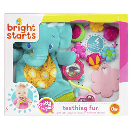 Bright Starts Pretty in Pink Teething Fun Gift Set
