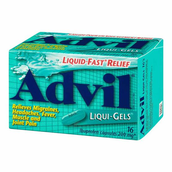 Advil Liqui-Gels - 16's