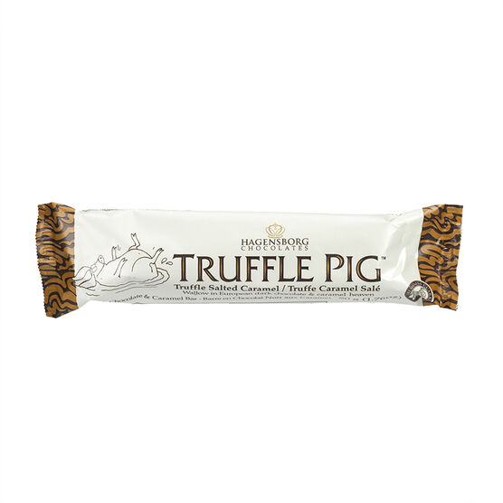 Truffle Pig Dark Chocolate - Sea Salted Caramel - 50g