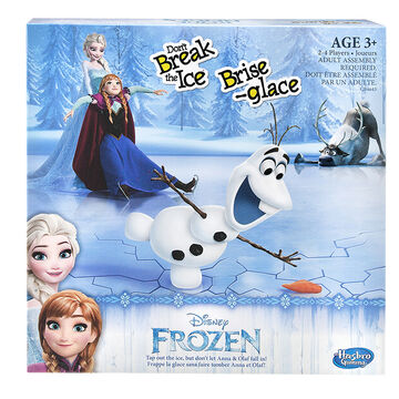 Frozen - Don't Break the Ice Game